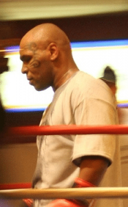 Mike Tyson with dental implants